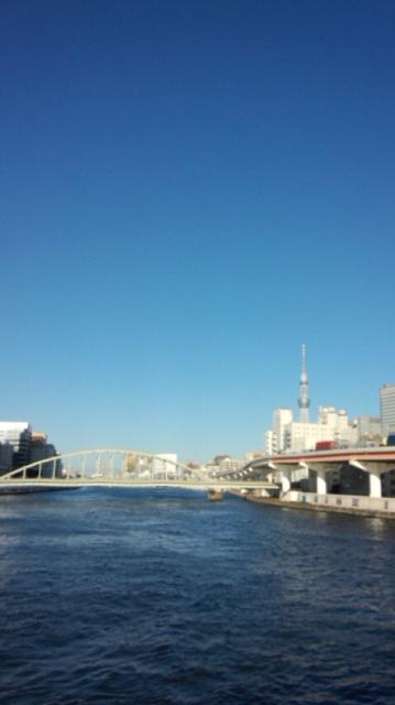 空が綺麗ですね〜